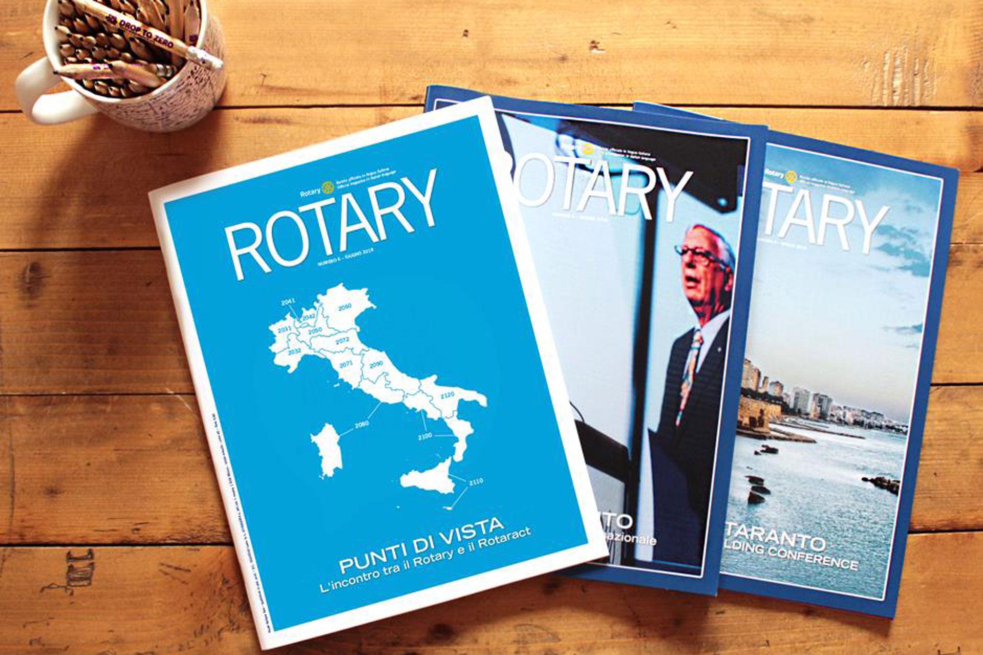 Rivista Rotary, raccontare il bene