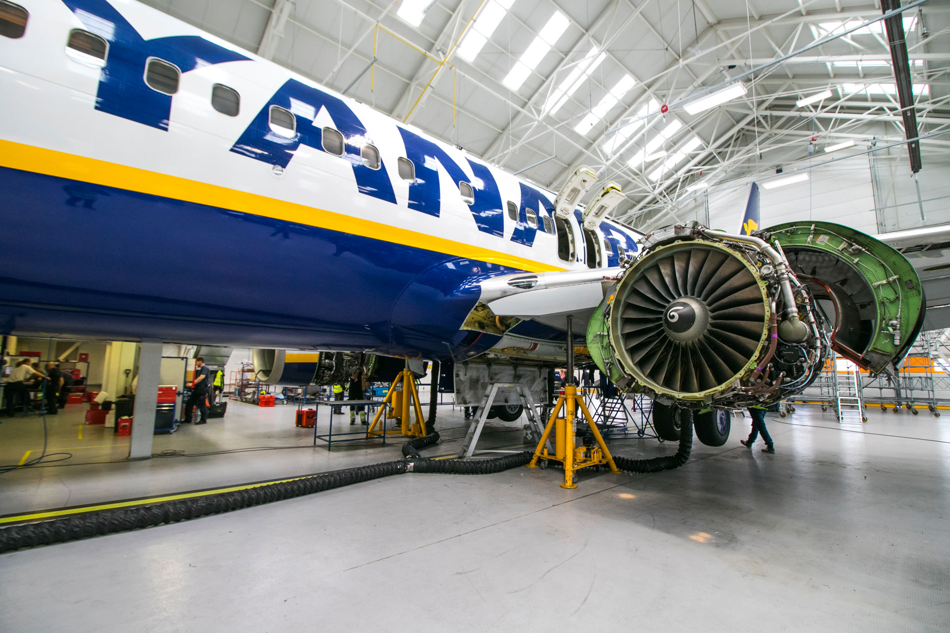 Terzo hangar Ryanair a Bergamo